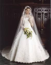 マリアベールベールとウェディングドレスの相性は実例写真で考えよう