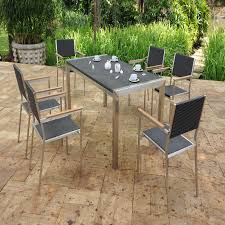 modern outdoor dining sets modern outdoor furniture houston awesome concept with contemporary dining table and chairs