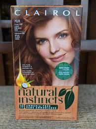 Natural Instincts Light Golden Red Clairol Natural Instincts 15rg Light Golden Red 1 Kit