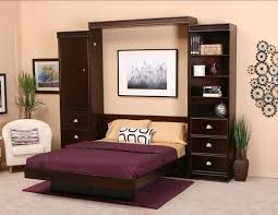 hidden bed furniture. Bedroom:Awesome Wall Second Level Office Hidden Bed Furniture Color Palette Rugs Red Swivel Chair