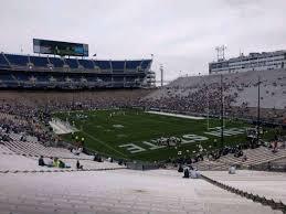 Penn St Stadium Seating Chart Beaver Stadium Section Nj Home Of Penn State Nittany Lions