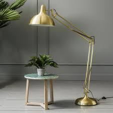 brass furniture. Oversized Brass Angle Floor Light Furniture T