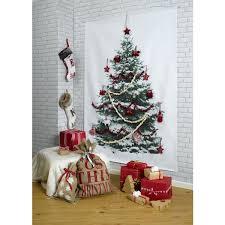 Diy Makeshift Xmas Tree Wall Hanging  Almost Makes PerfectChristmas Trees That Hang On The Wall