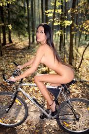 Woman riding bike nude callery