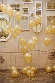 wall of gold balloons and mirrors, photo by sara & rocky Wedding Ideas In Gold wall of gold balloons and mirrors, photo by sara & rocky photography wedding ideas in columbia sc