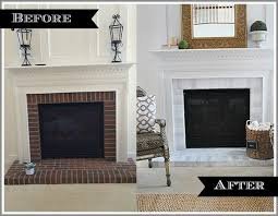 painting a fireplace whiteHowto paint your brick fireplace surround  11 Magnolia Lane