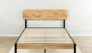 ideas solid wooden frame rustic full single platform diy twin simple parts headboard white king slat
