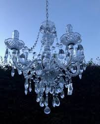 beautiful marie therese clear chandelier 5 arm