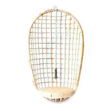vintage rattan hanging egg chair outdoor wicker