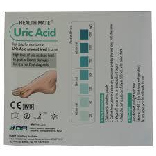 Gout Urine Test Strip Gp Professional Uric Acid Testing 1 Test Pack Home Health Uk