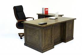office table desk. Traditional-04 Office Table Desk
