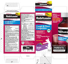 Childrens Robitussin Cough And Chest Congestion Dm Liquid