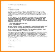 10 11 Donation Letters Examples Lasweetvida Com