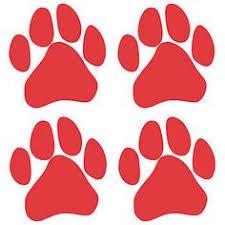 red bulldog paw clipart. Simple Paw Red Spirit Paw Temporary Tattoos Face Tattoos Dog Prints Tattoo  Black Inside Bulldog Clipart D