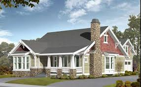 small craftsman house plans. #115-1434 · Front Elevation Of Craftsman Home (ThePlanCollection: House Plan #115-1434) Small Plans Y