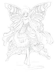 Fairy Coloring Page Printable Fairy Coloring Pages Online Fairy