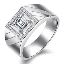 mens sterling silver wedding rings. men diamond wedding ring band for him in sterling silver. mens silver rings l