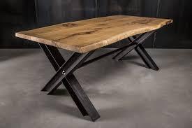 Tisch Metallgestell Irdz Esstisch Metallgestell Holzplatte