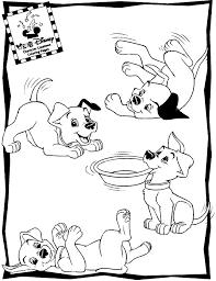 101 dalmatians coloring pages 11 614 disney coloring book res