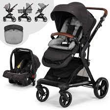 Elele Allroad 2 Travel Sistem Bebek Arabası Siyah |