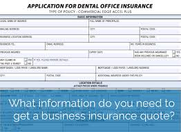 Business Insurance Quotes Amazing What Information Do You Need To Get A Business Insurance Quote