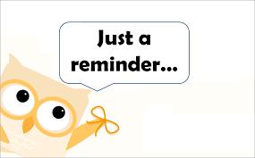 Image result for reminder images clip art