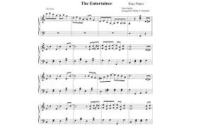 Suitable for people learning piano or anyone who wants to play this song. The Entertainer Scott Joplin Sheet Music Keytarhq Music Gear Reviews