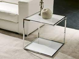 one glass coffee table by pacini