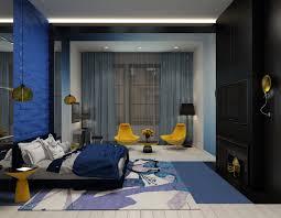 Modern Blue Bedrooms Top Ten Modern Blue Bedroom Interior Themes Orchidlagooncom