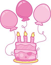 girl birthday cake clip art. Modren Birthday Pink Birthday Cake Clipart  Kid Vector Free Download For Girl Clip Art Y