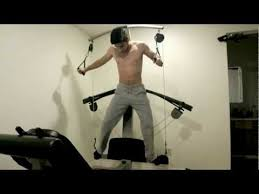 Weider Max Ultra Exercise Chart Working Out Again On Weider Crossbow Max Jan 15 2013 Youtube