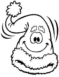 Spongebob Kleurplaat Kerst Muts