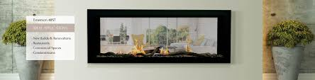 sierra flame emerson 48st gas fireplace