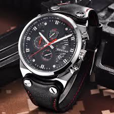 popularne luminous dial mens watches kupuj tanie luminous dial marka benyar 2017 nowych mężczyzna zegarki zegarek kwarcowy chronograf mężczyźni prawdziwe trzy dial luminous wodoodporny 30