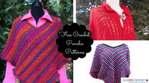 Free Crochet Poncho Patterns Unique 48 Free Crochet Poncho Patterns AllFreeCrochet