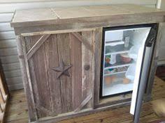Deck Cabinet With Refrigerator Open Door Tile Top  Make The Diy Mini Fridge86