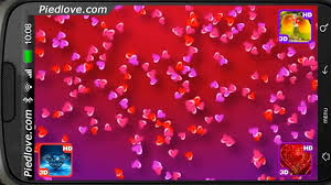 Colorful Drifting Love Hearts Deluxe HD ...