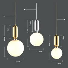 ball pendant lighting globe glass ball pendant lights chrome iron hanging lamp fixtures cm led chandelier