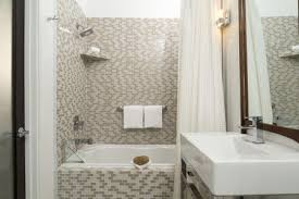 small bathroom shower getty images