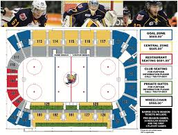 Colts Seating Chart Ticket Information Barrie Colts