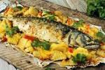 рыба в фольге в духовке с рисом рецепт