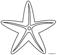 Small Picture Drawn starfish printable Pencil and in color drawn starfish