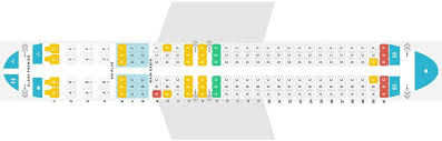 Boeing 737 200 Seating Chart