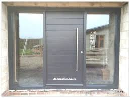 composite front doors with glass side panels pertaining to plans 4 exterior door 2