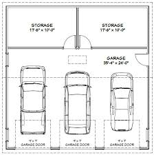 Garage Dimensions  Google Search  Andrew Garage  Pinterest 4 Car Garage Size