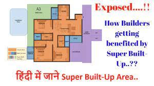 super built up built up area
