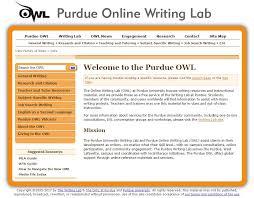 Purdue Owl Purdue Owl Tech4teach