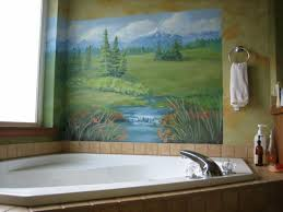 Inspiring Image Of 9459 Small Bathroom Wall Murals Decorating ...