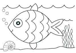 Free printable ocean animals coloring page for kids to print out and color. Fish In The Ocean Coloring Page Kindergarten Coloring Pages Kindergarten Coloring Sheets Preschool Coloring Pages