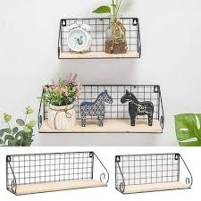 collectible display shelves at